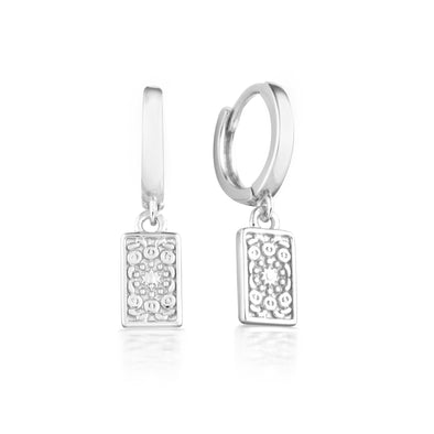 Fira Earrings Silver