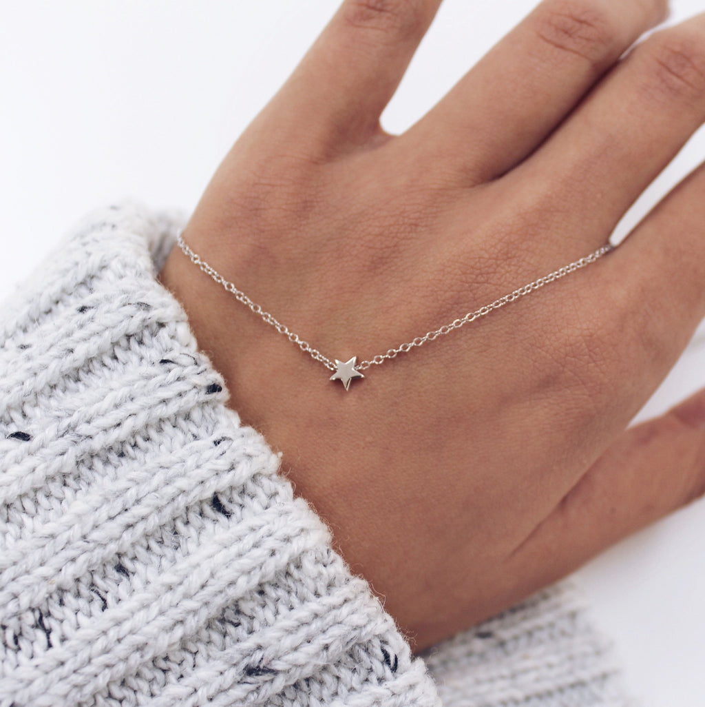 Starlet Necklace Silver