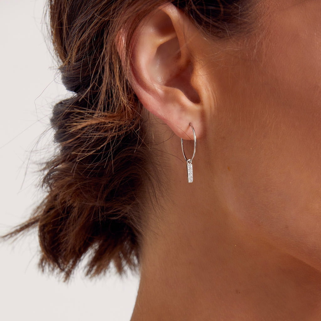 Tori Earrings Silver