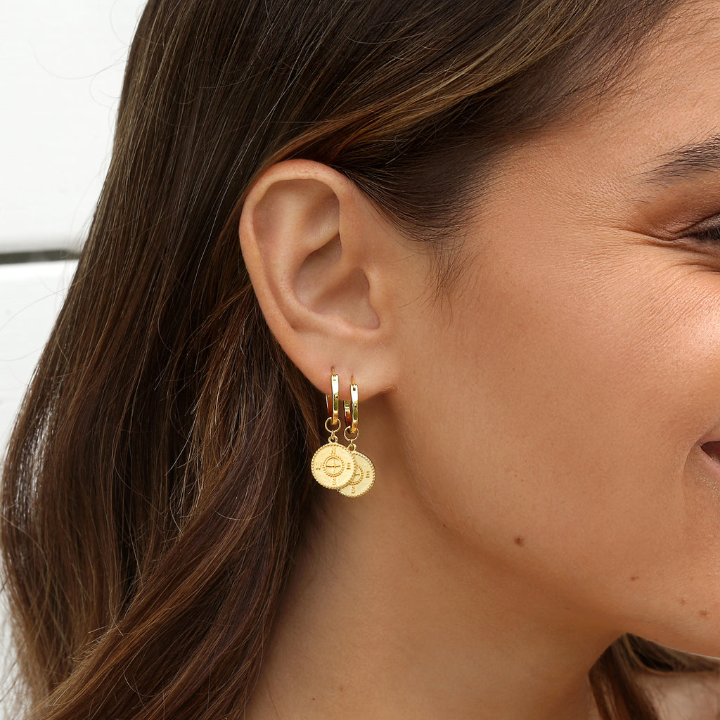 Voyage Earrings Gold