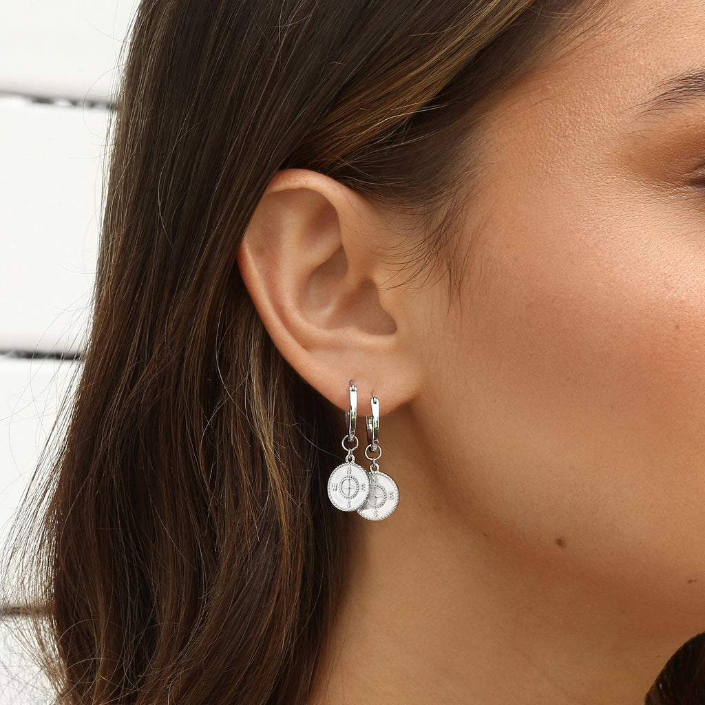 Voyage Earrings Silver