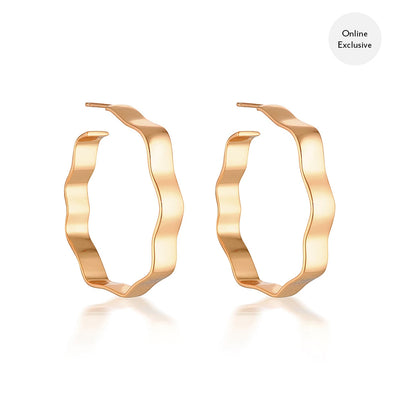 Zara Hoops Rose Gold