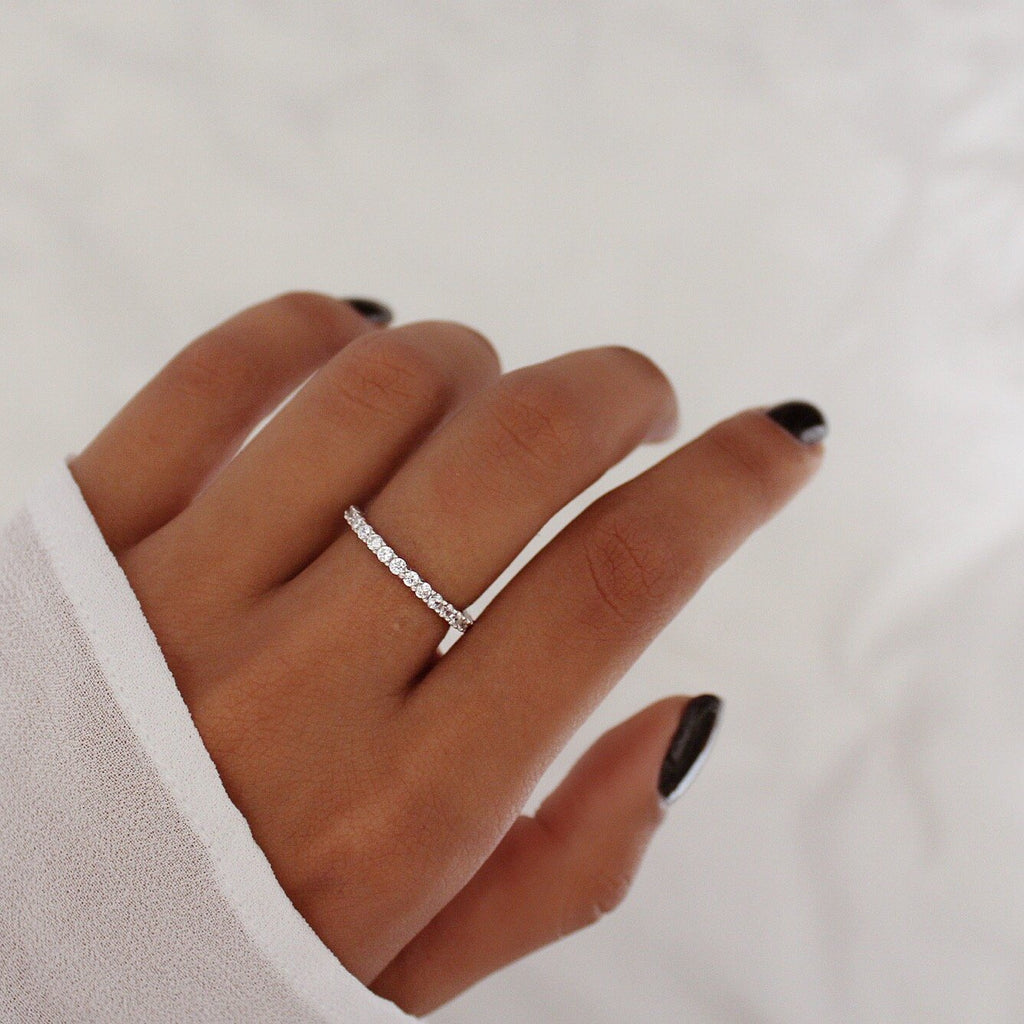 Elle Ring Silver