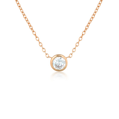 Myla Necklace Rose Gold