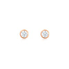 Myla Earrings Rose Gold