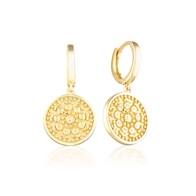 Pella Earrings Gold