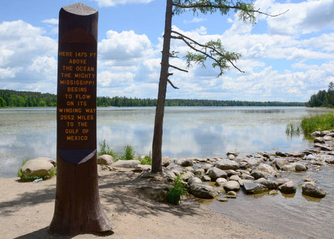 Headwaters of Mississippi River at Lake Itasca Oliver Simes Alpha Omnia Podcast