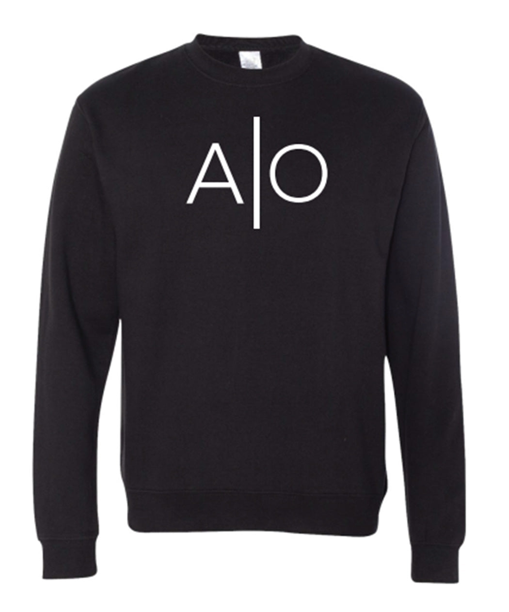 Alpha Omnia Black Crewneck