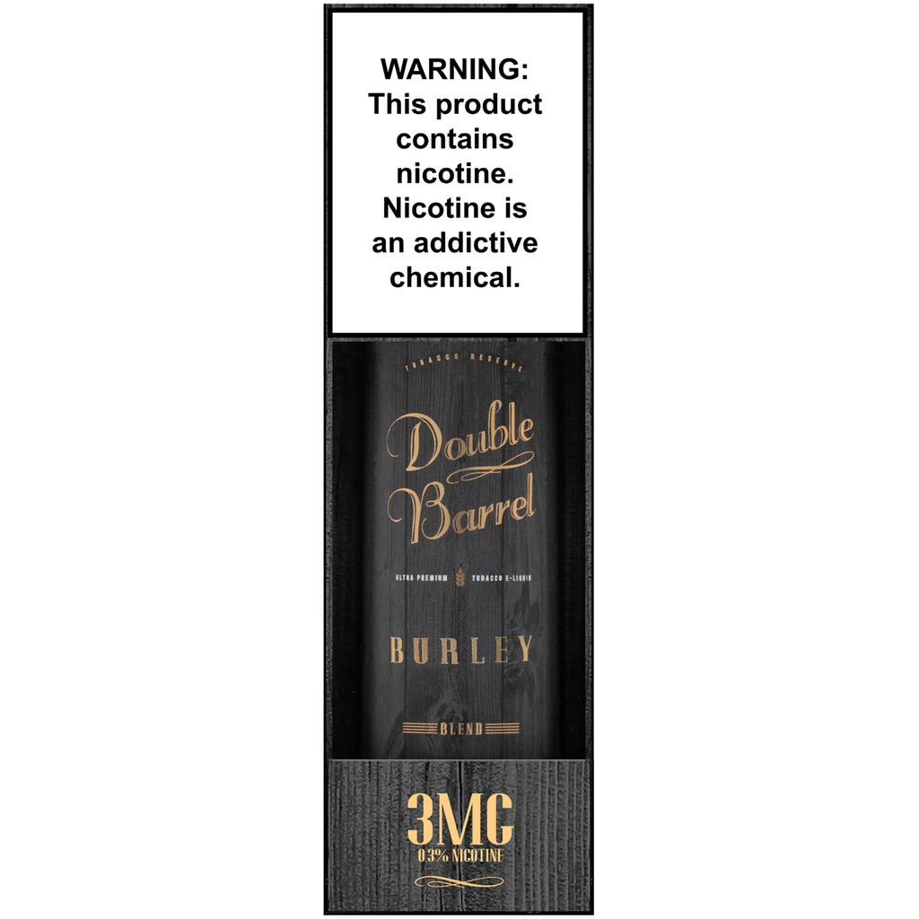 NEWLY RELEASED! Burley by Double Barrel Tobacco Reserve
