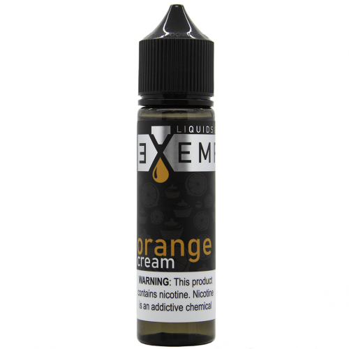 Exempt juice Orange Cream 60 mg