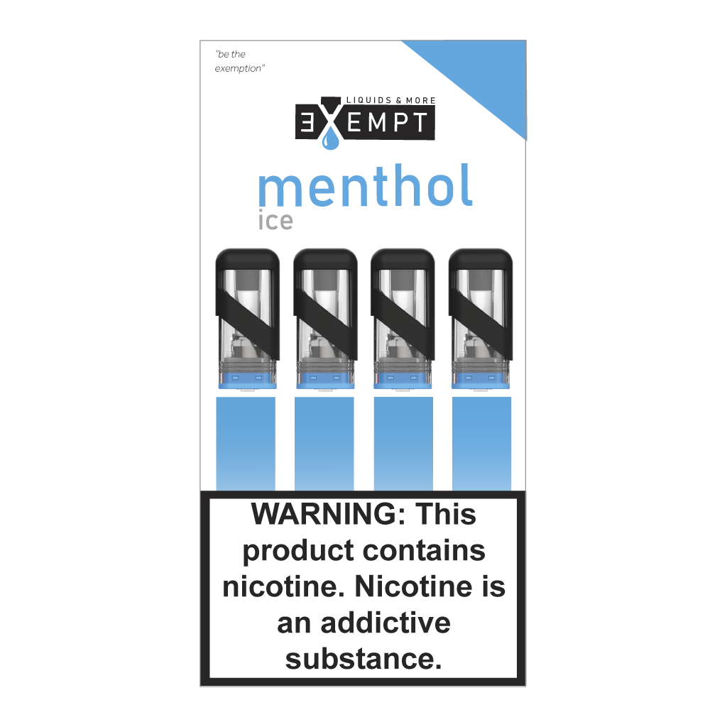Exempt juice Menthol 1.2 ml