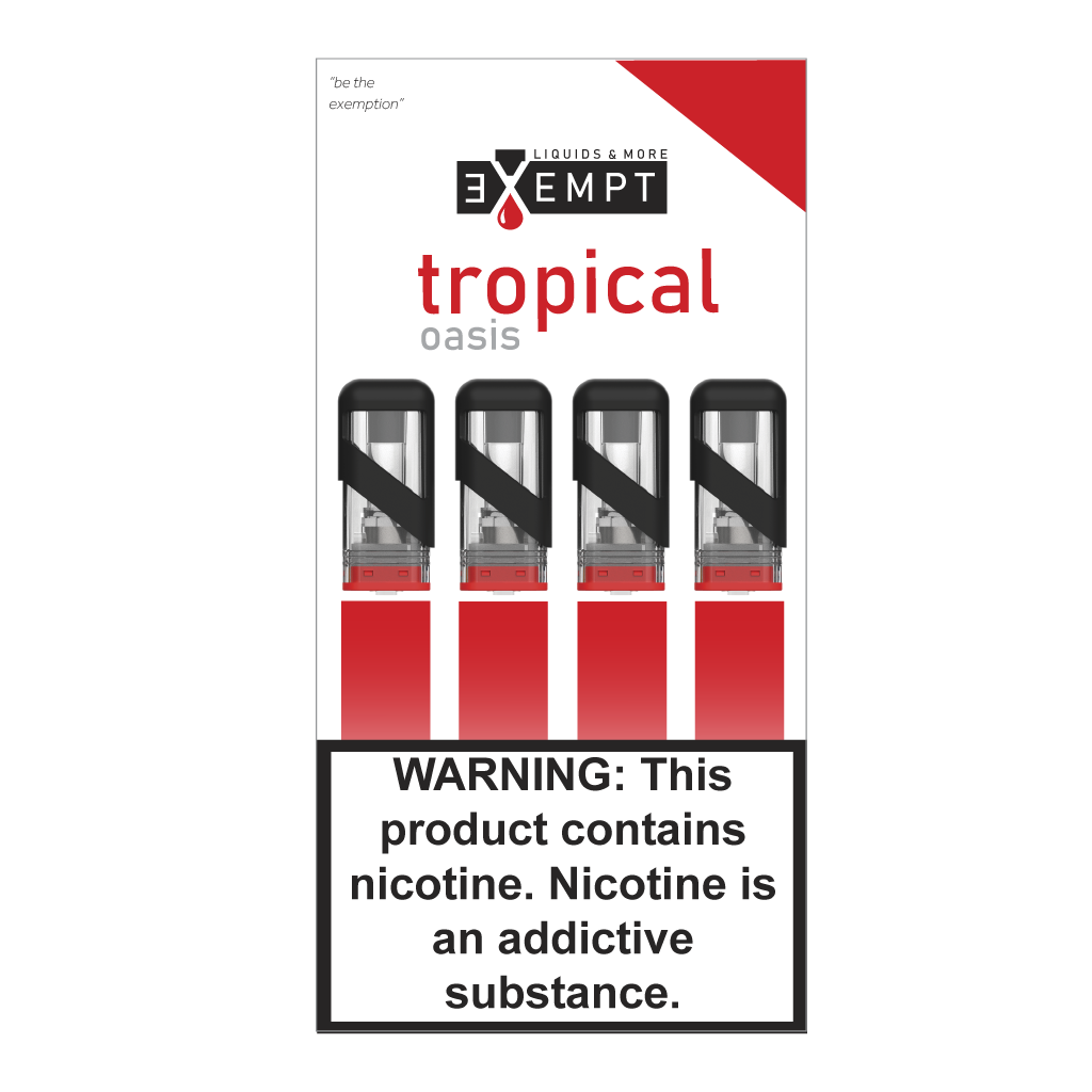 Exempt Juice Tropical 1.2 ml 4 pack