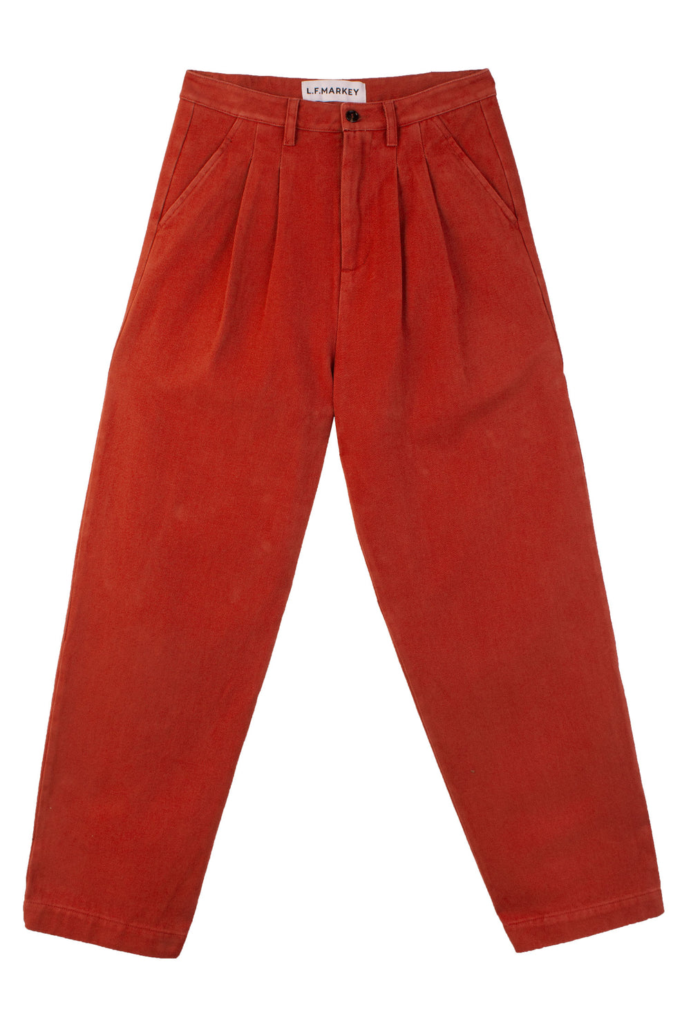 Classic Slacks Brick Red