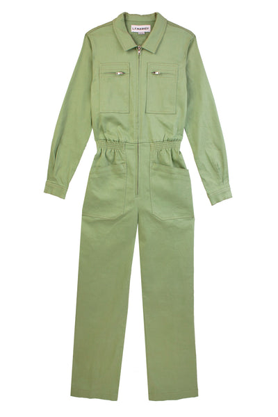 Danny Longsleeve Boilersuit Mint