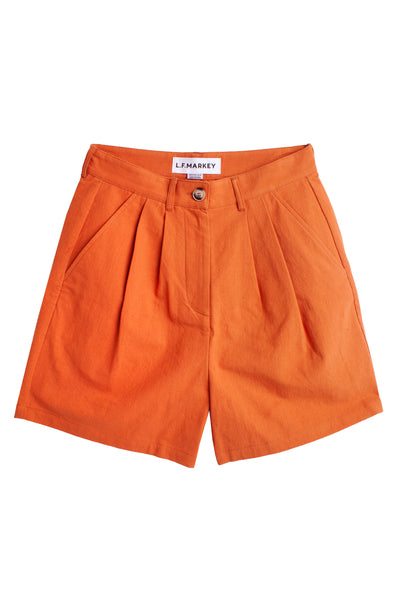Henry Shorts Burnt Orange