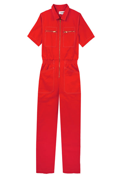 Danny Boilersuit Tomato