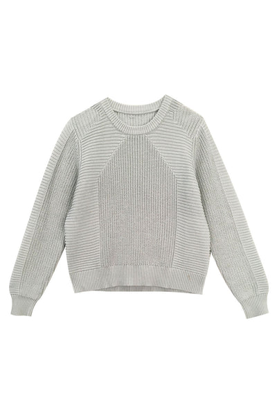 Julian Knit Steel Blue