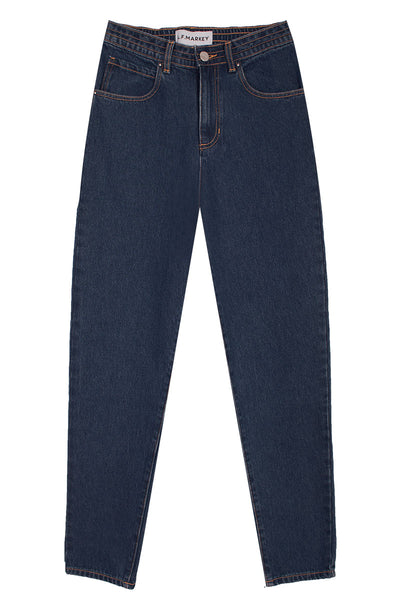 Johnny Elasticated Jeans Dark Indigo