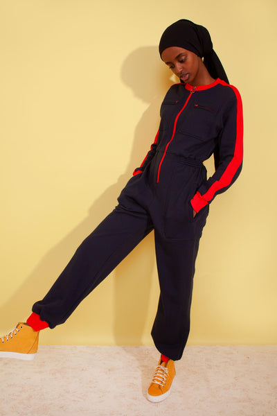 Dom Boilersuit Navy