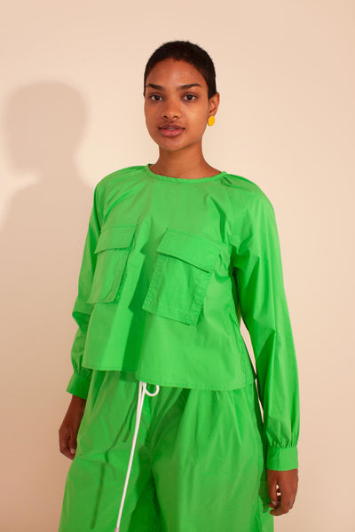 Norman Top Apple Green
