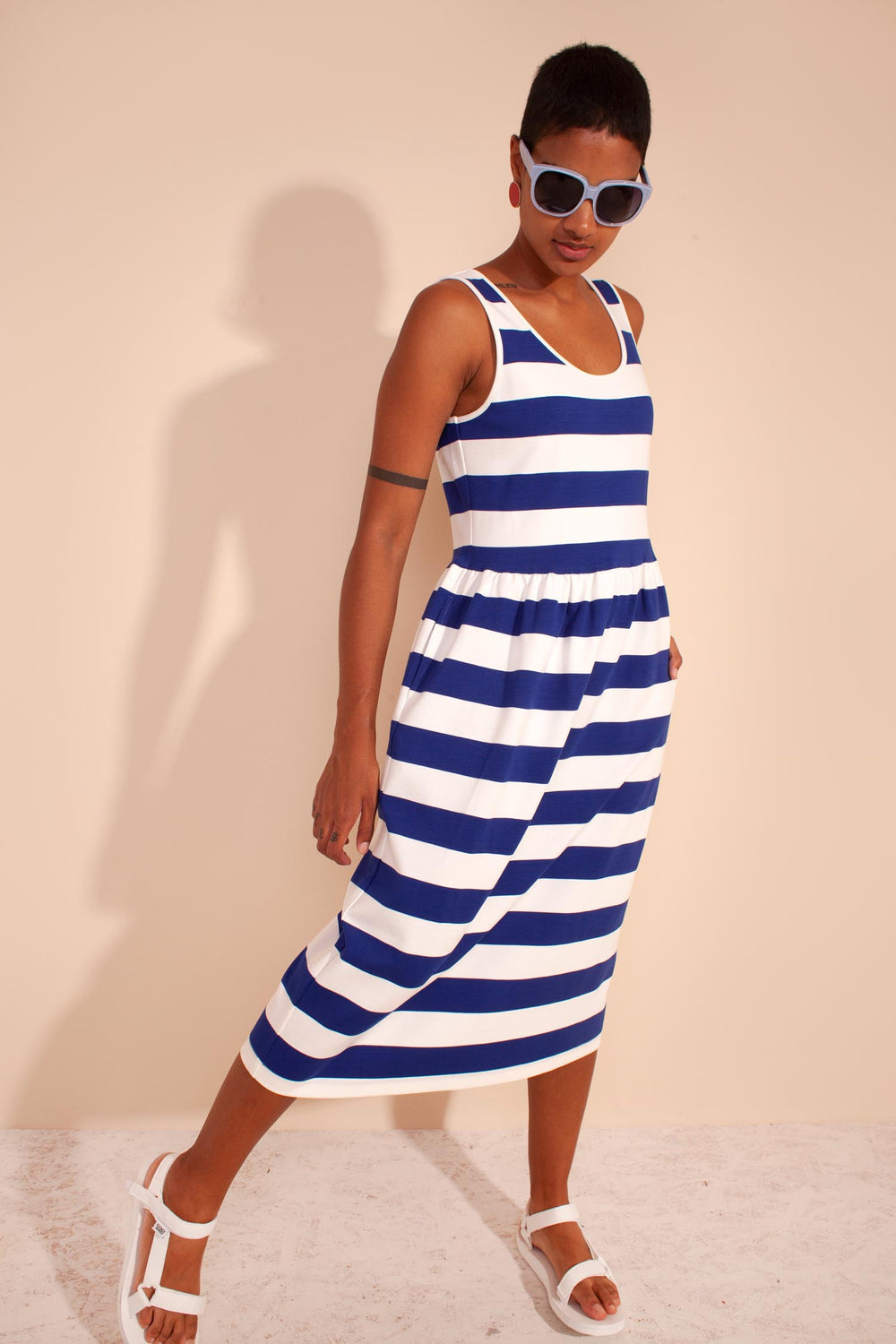 Albert Dress Cobalt