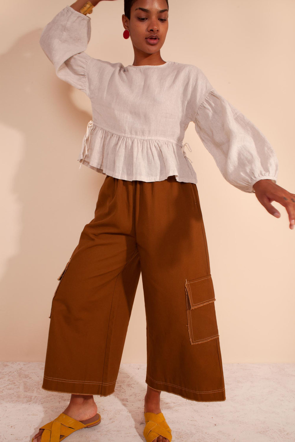 Ellis Trouser Terracotta