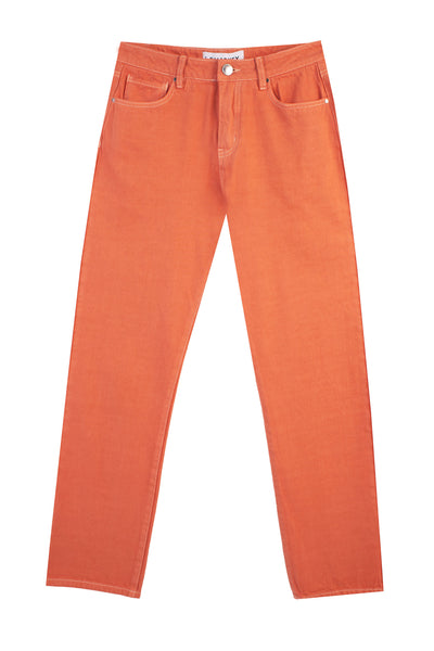 Straight Cut Jeans Apricot