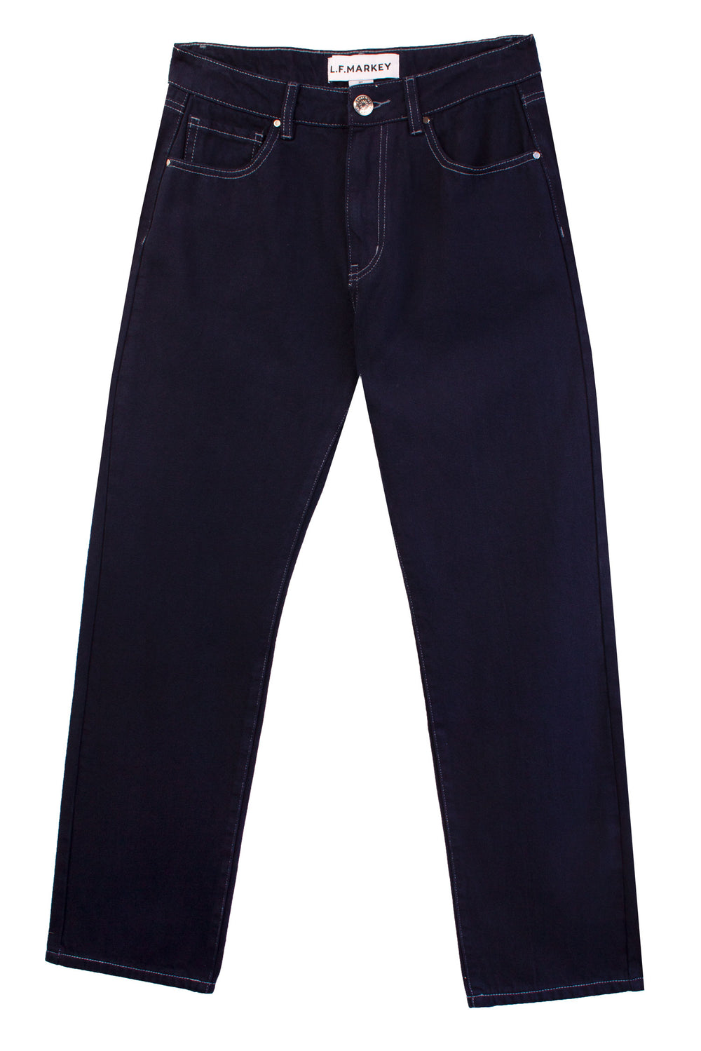 Straight Cut Jeans Navy