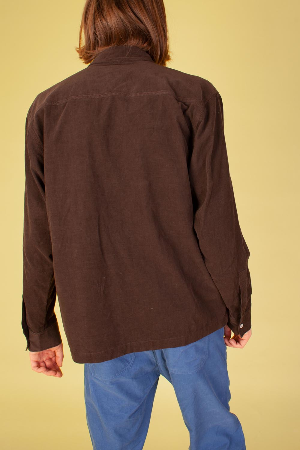 Ando Shirt Chocolate Corduroy