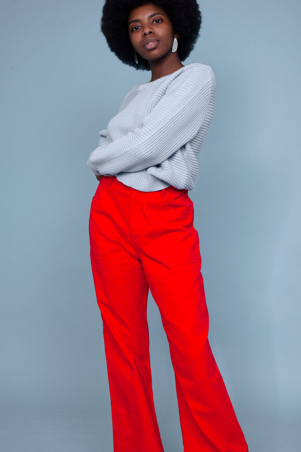 Didion Trouser Red