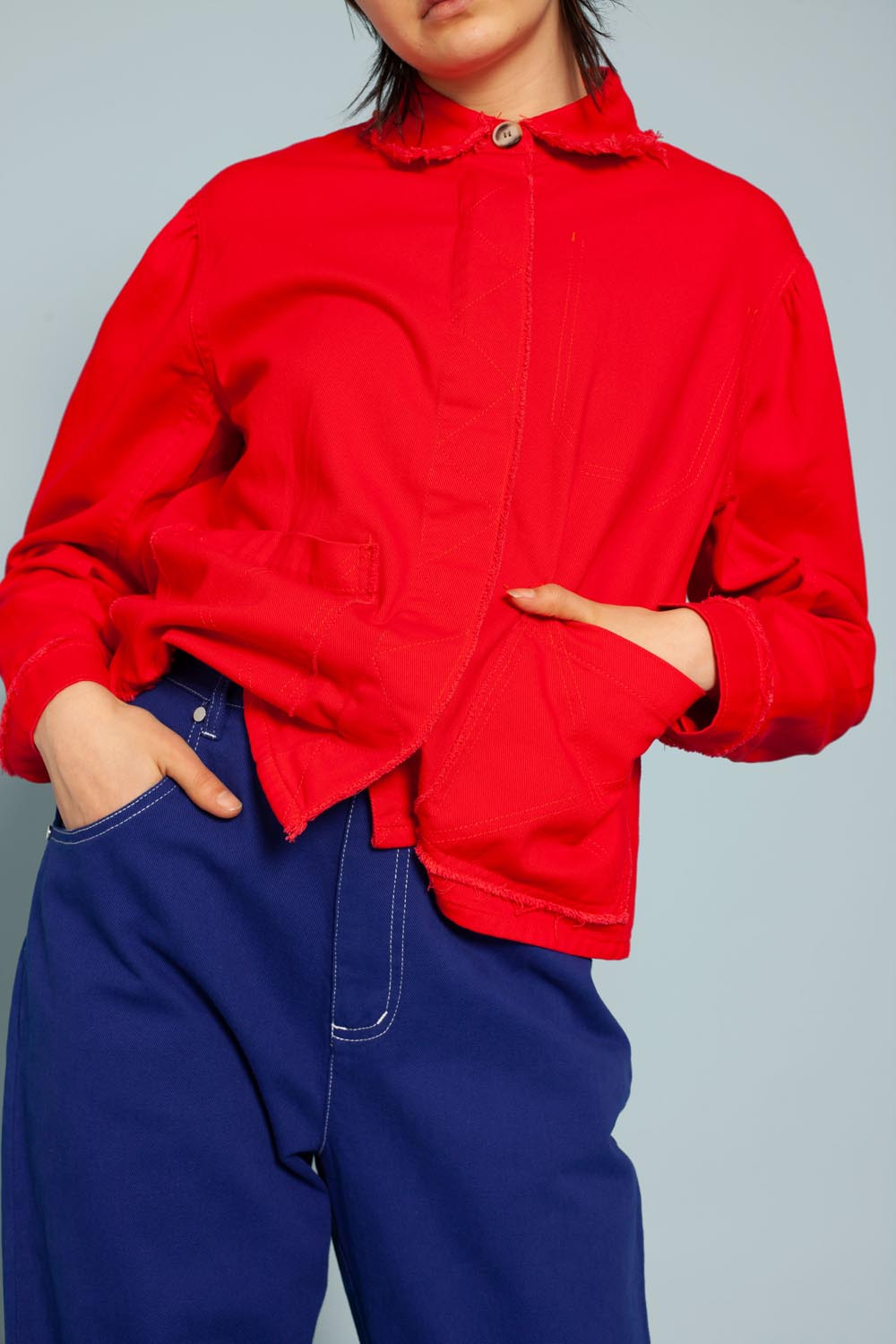 Marlo Jacket Red