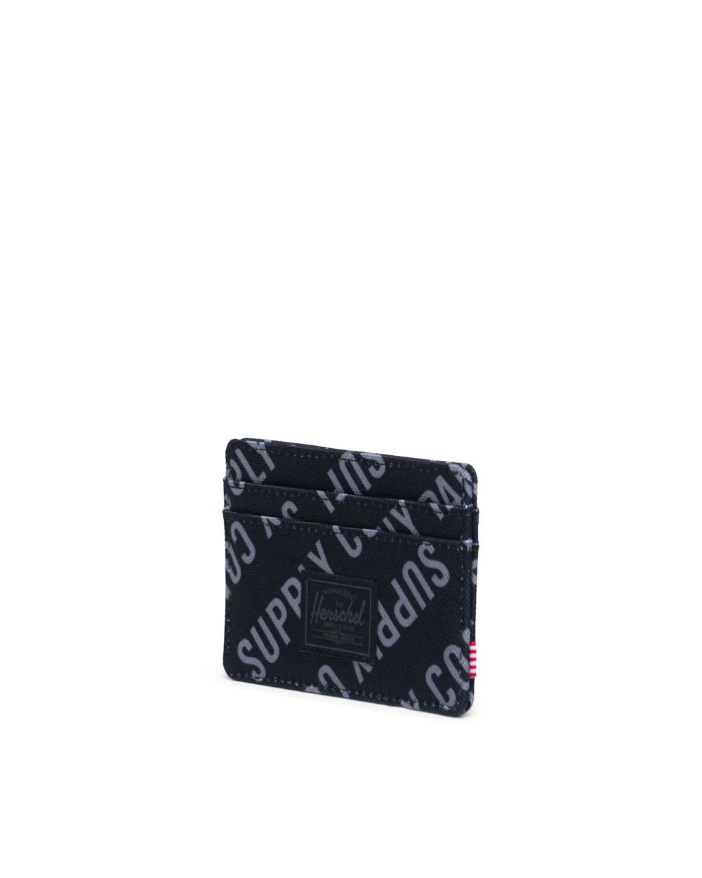 Charlie Wallet (Roll Call Black/Sharkskin)