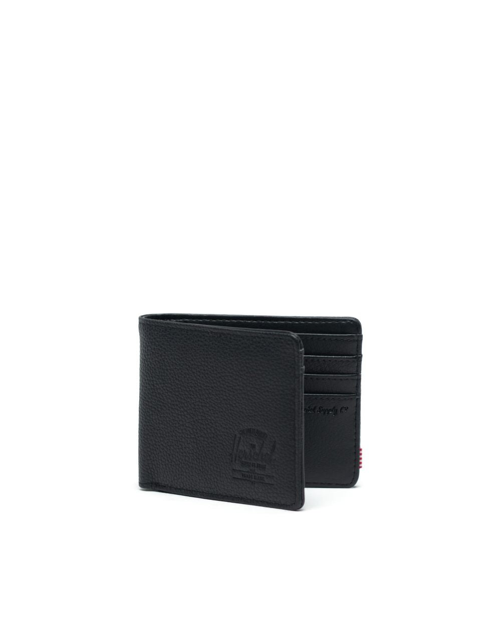 Hank+ Wallet (Blk Pebble Leather)