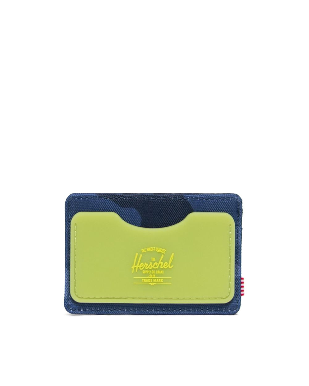 Rubber Charlie Wallet (Peacoat Camo/Lime Punch)
