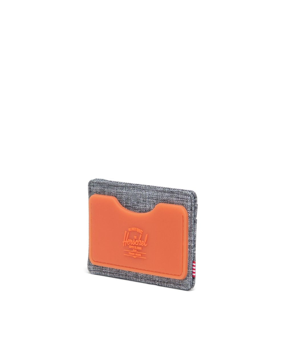 Rubber Charlie Wallet (Raven Crosshatch/Vermillion Orange)