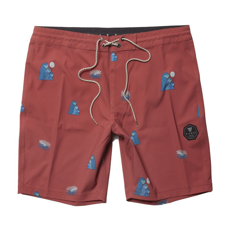 "Outside Sets 18.5"" Boardshort (Plumeria)"