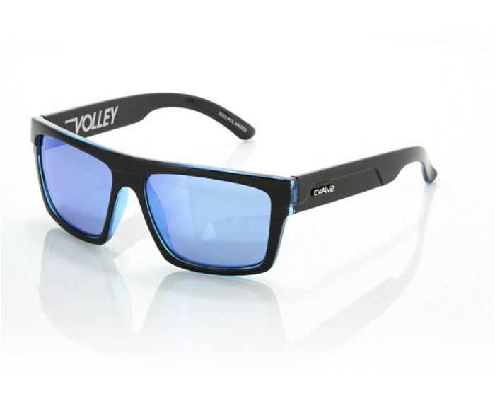 Volley Polarized with Iridium (Black/Blue)