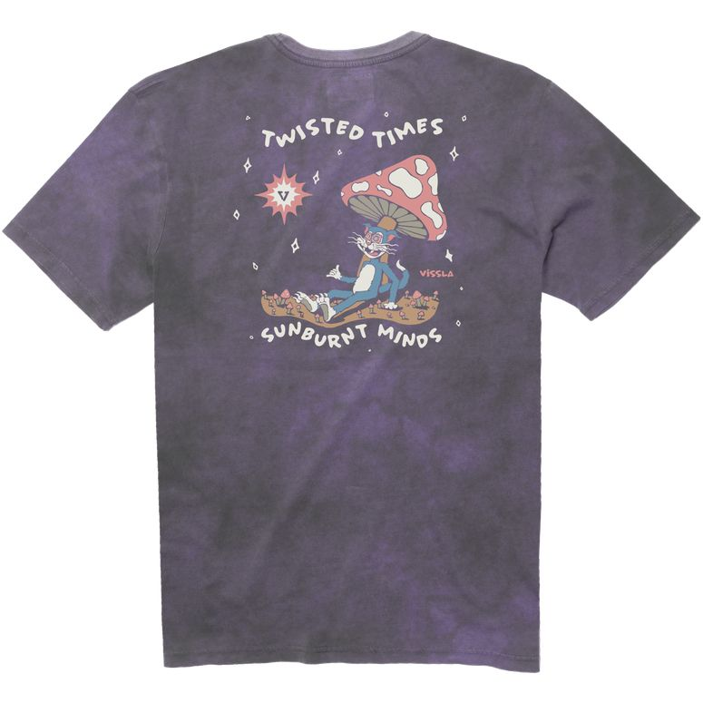Toasted High Tide Tee (Dusty Lilac)