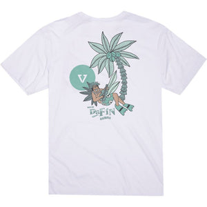 DaFin Point Panic Aloha Tee (White)