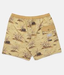 Honolulu Beach Short (Sunset Yellow)