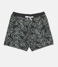 Load image into Gallery viewer, Botanical Beach Short (Vintage Black)