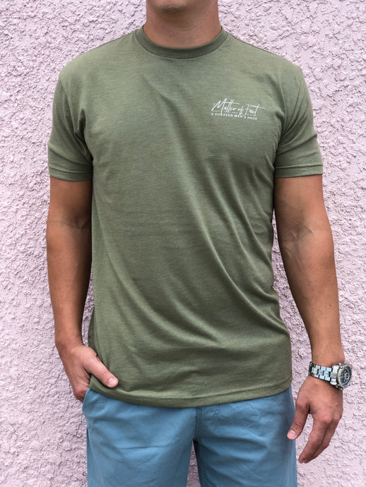 Matter of Fact Tee (Olive)