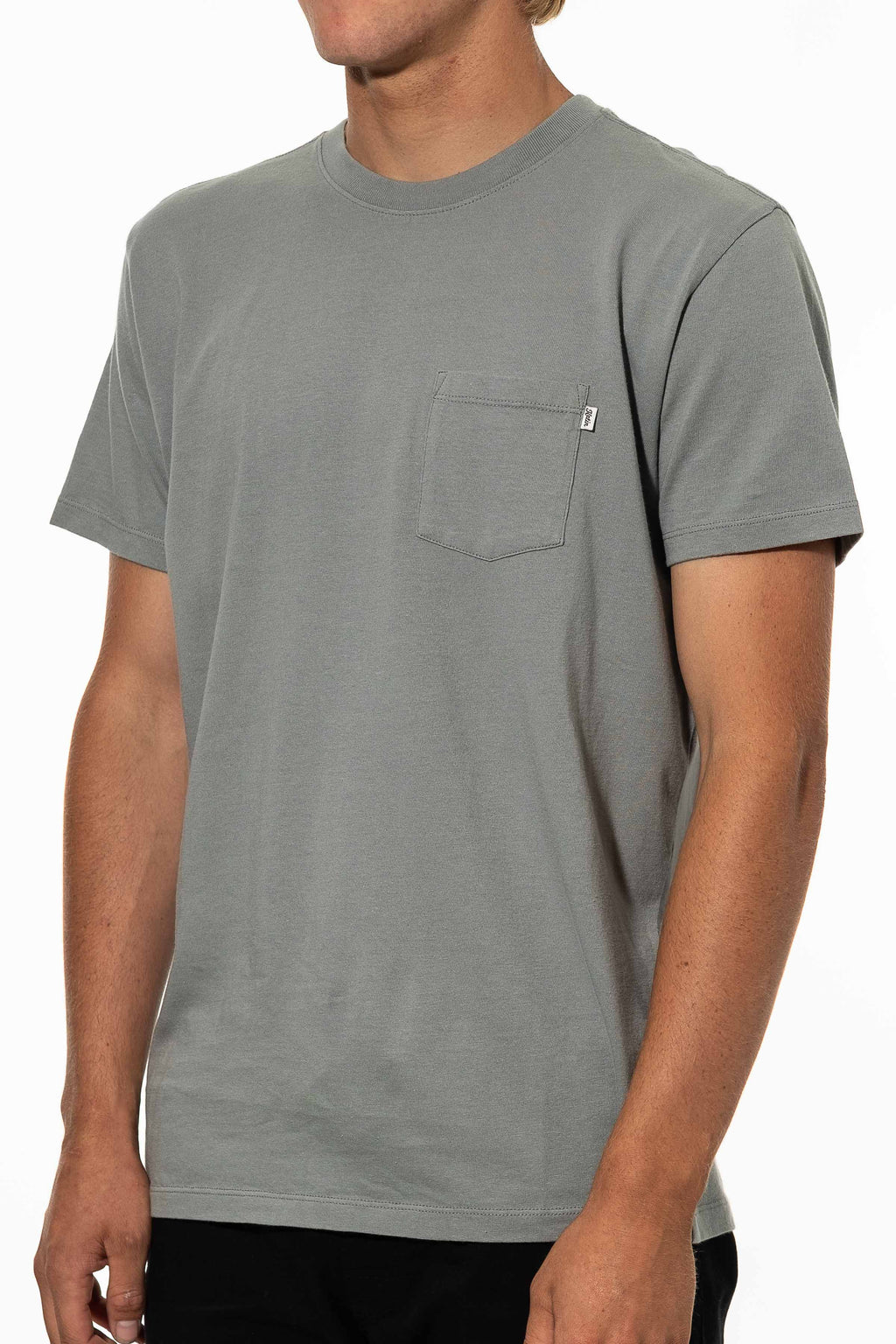 Base Tee (Gray Green)