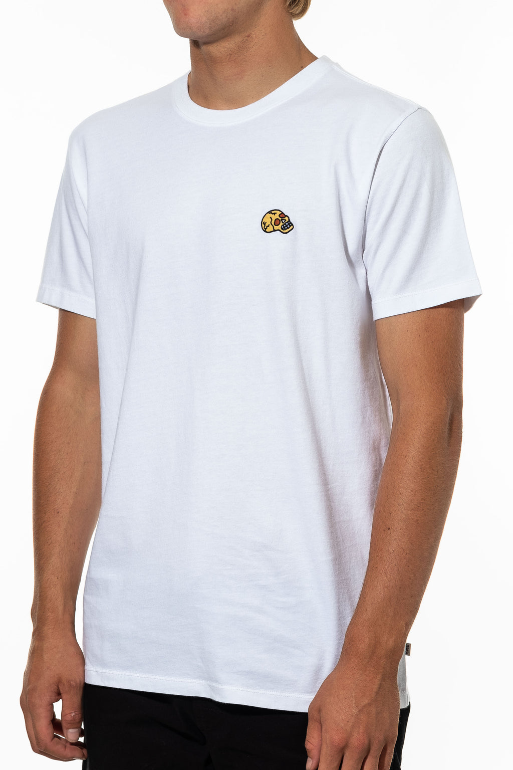 Red Eye Embroidery Tee (White)