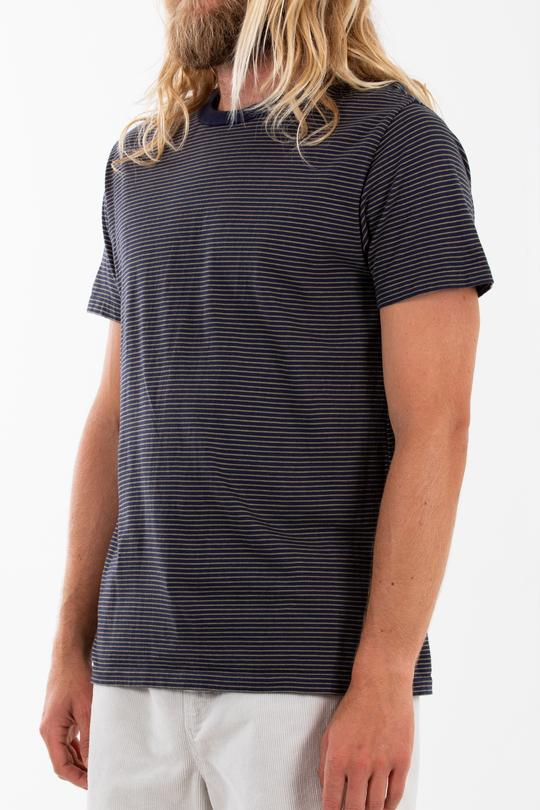 James Knit Tee (Navy)