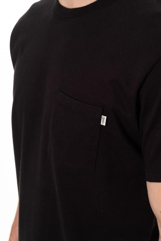 Base Pocket Tee (Black)