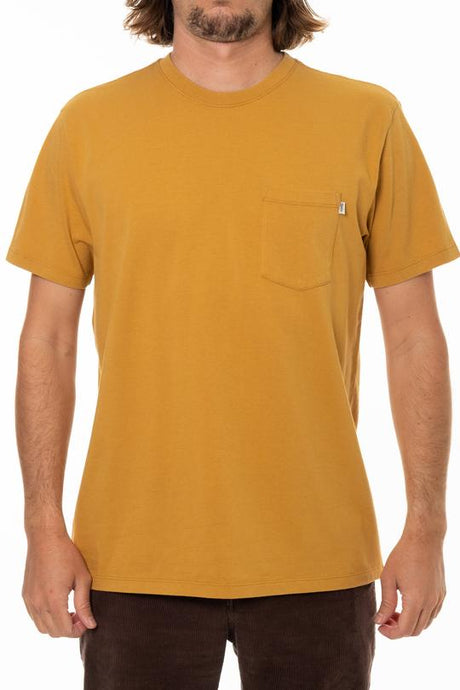 Base Pocket Tee (Driftwood)