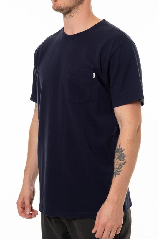 Base Pocket Tee (Navy)