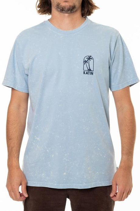 Twin Palms Tee (Sky Blue Mineral)