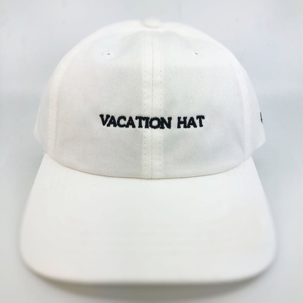 Vacation Hat (White)